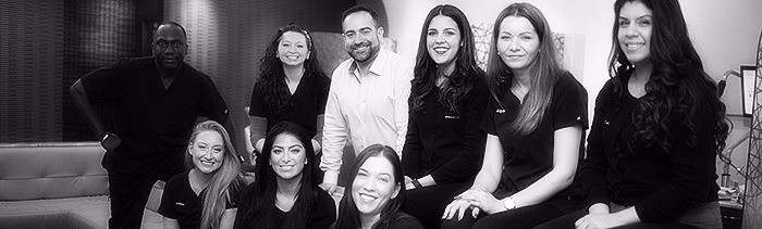 team at schulhof center for cosmetic orthodontics - new jersey