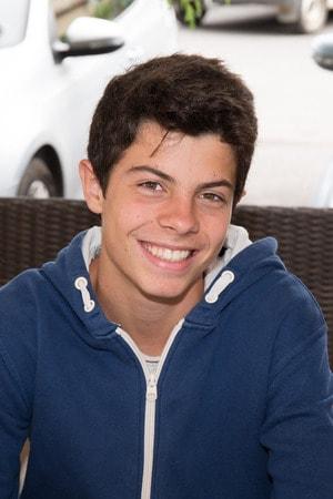 adolescent smiling