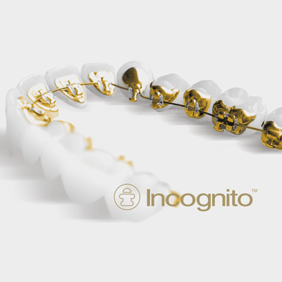 Incognito brace and Incognito logo.