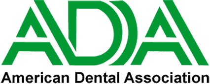 American Dental Association logo.