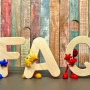 FAQ sign