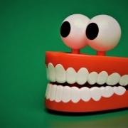 plastic teeth toy